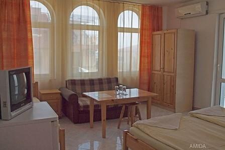 wczasy bułgaria - TPL1 (pok. 3-4-os.) Balkon wspólny z pokojem DBLB