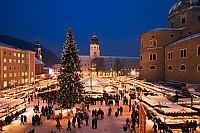 Austria - Salzburg - Jarmark Bożonarodzeniowy